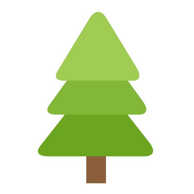 640x640 Christmas Tree Icon, Christmas, Icon, Vector Png And Vector For