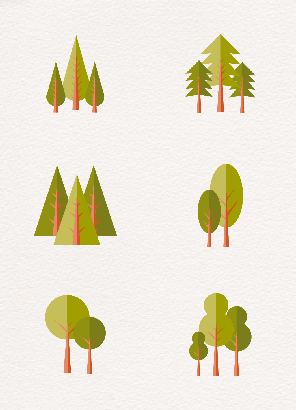 Tree Icon Vector Free Download