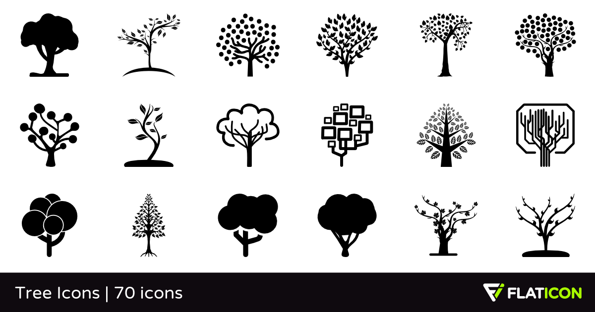 1200x630 Tree Icons 70 Free Icons (Svg, Eps, Psd, Png Files)