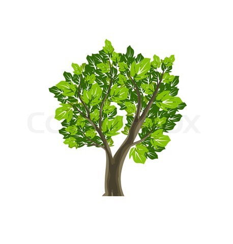 458x480 Tree Icon Item 5 Vector Magz Free Download Vector Graphics