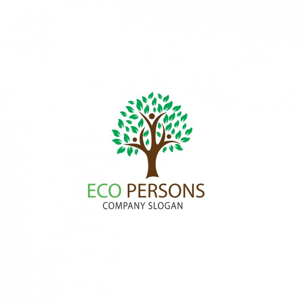 626x626 Tree Shape Logo Template Vector Free Download