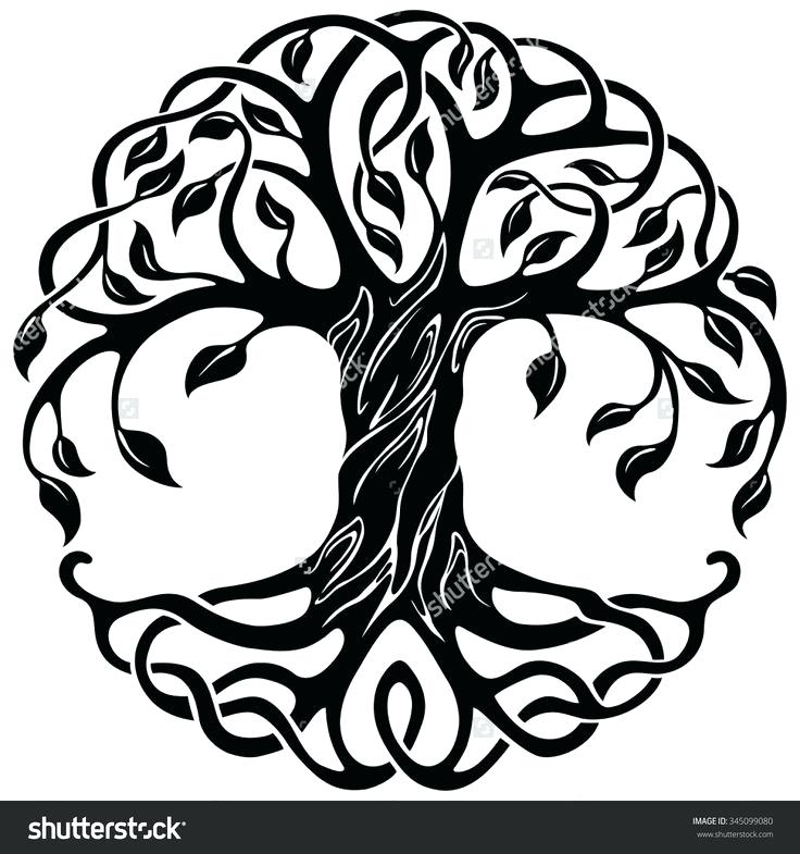 736x785 Tree Of Life Celtic Vector Ornament Decorative Knot Necklace