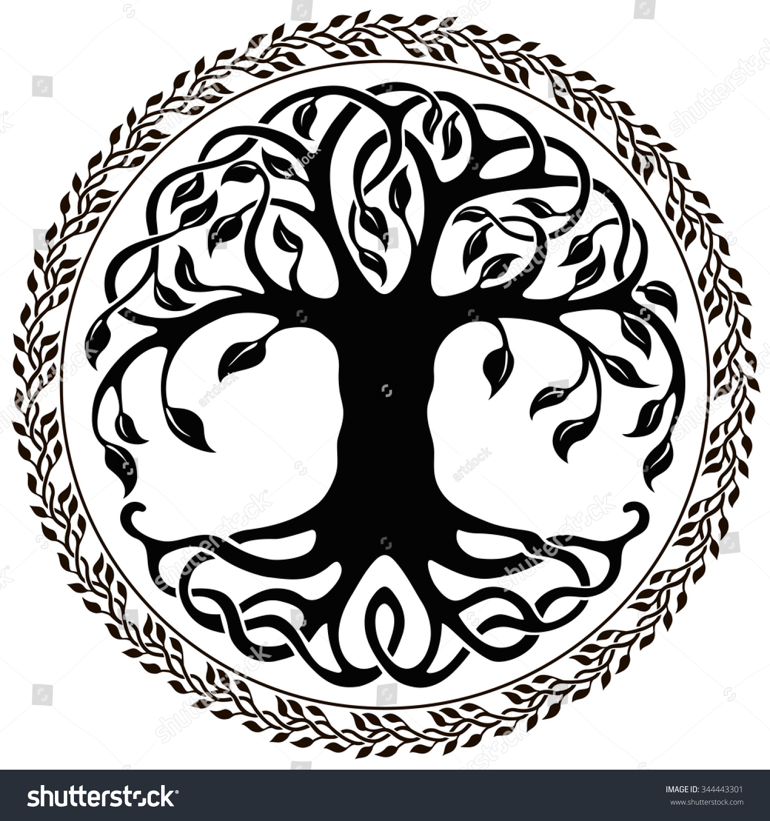 1500x1600 Black And White Tree Of Life Png Transparent Black And White Tree
