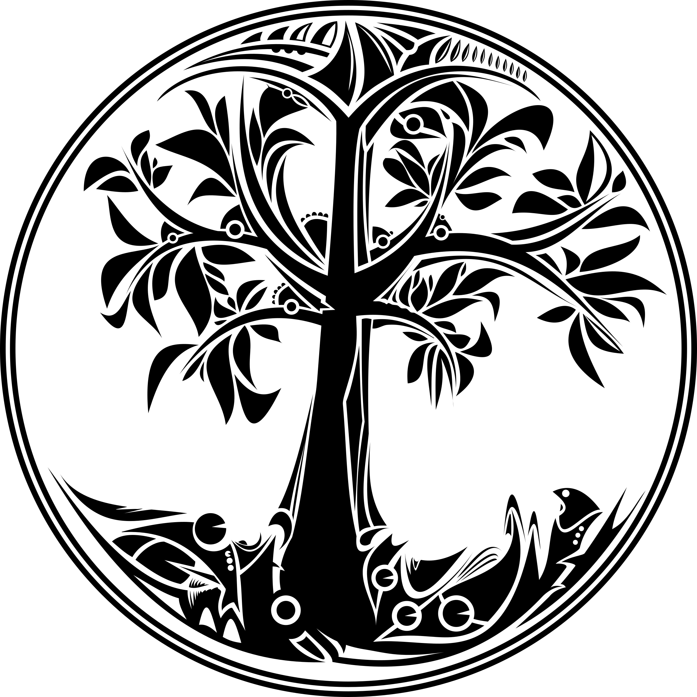 2400x2400 Tree Of Life Vector File Image