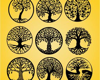 340x270 Tree Of Life Svg Etsy