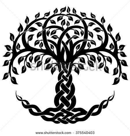 450x470 Vector Ornament, Decorative Celtic Tree Of Life Tattoos I Want