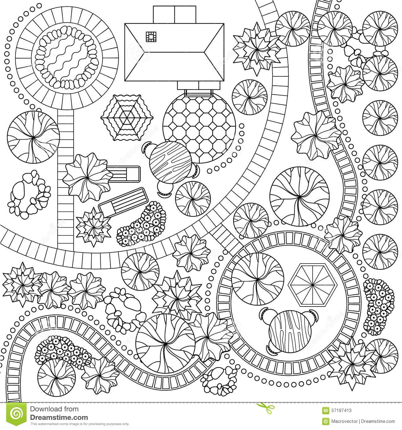 1300x1390 Garden Plan Vector Free Luxury Tree Plan Silhouette Vector Buscar