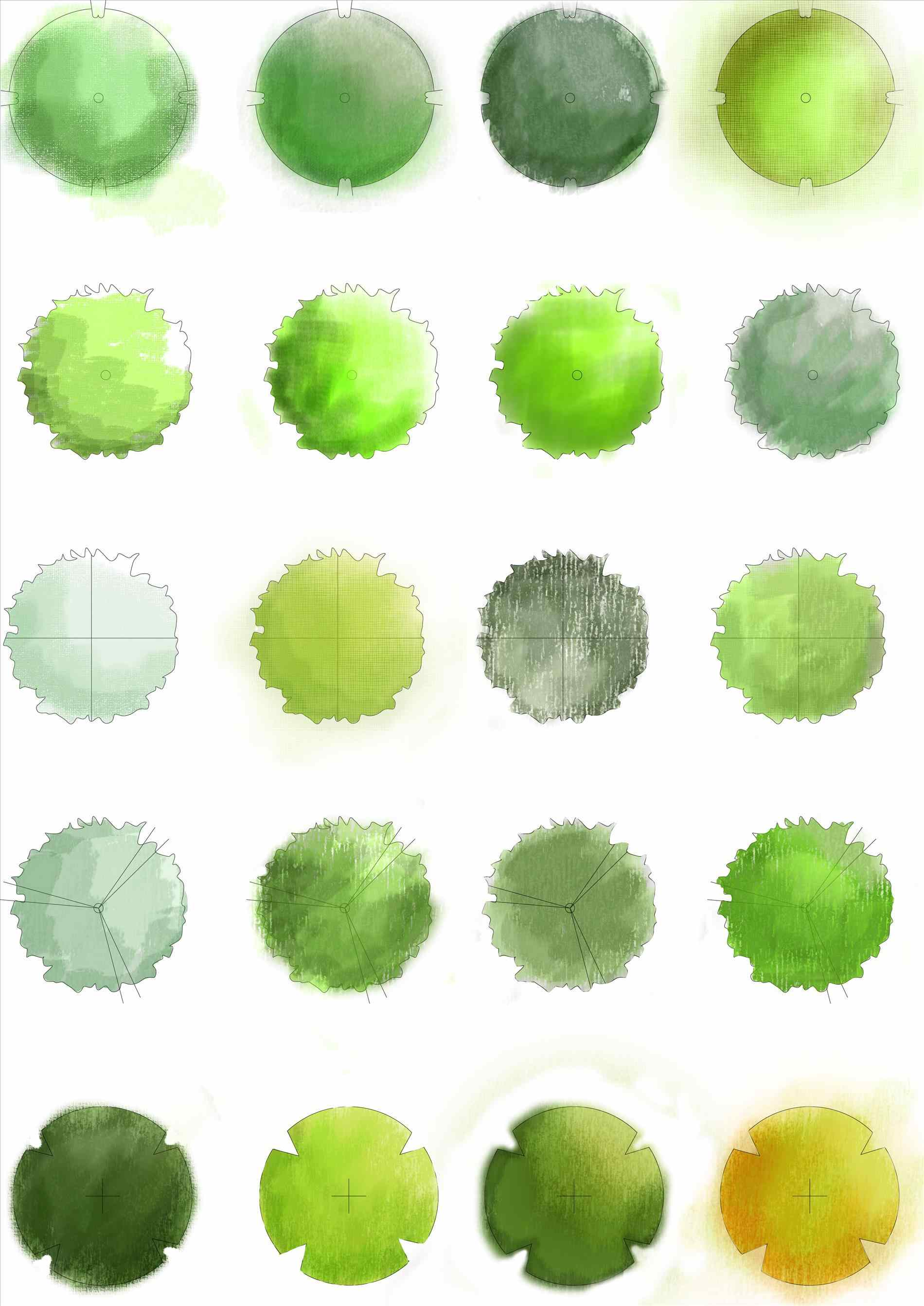 1900x2686 Collection Of Tree Plan Drawing Png High Quality, Free