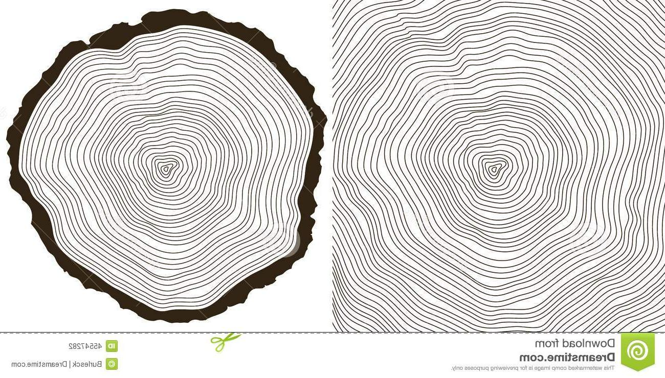 1300x740 Best Tree Rings Vector Background Saw Cut Trunk Cdr