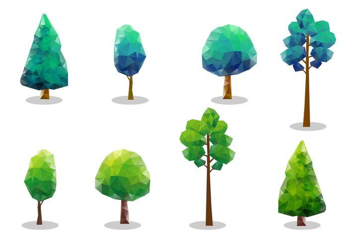 700x490 Free Vector Tree Tops