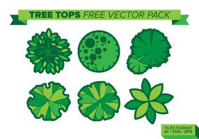 286x200 Tree Top View Free Vector Art
