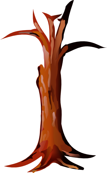 372x598 Tree Trunk Clipart Free Clipart