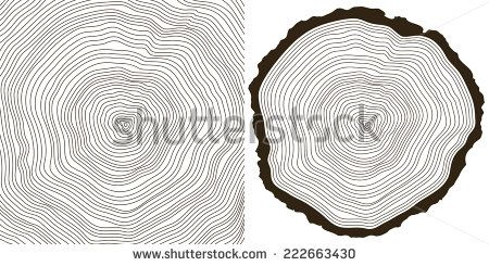 450x245 Vector Tree Rings Background And Saw Cut Tree Trunk Trunks