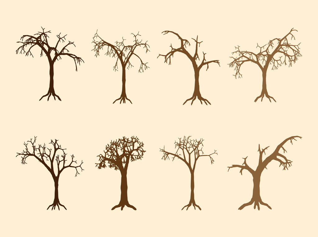 1024x765 Dead Tree Silhouettes Vector Art Amp Graphics