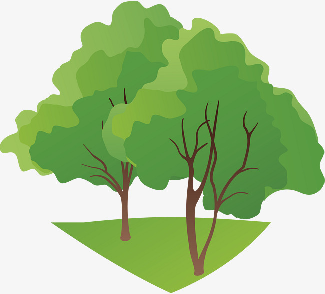 650x587 Green Tree Png Vector Element, Green Vector, Tree Vector, Tree