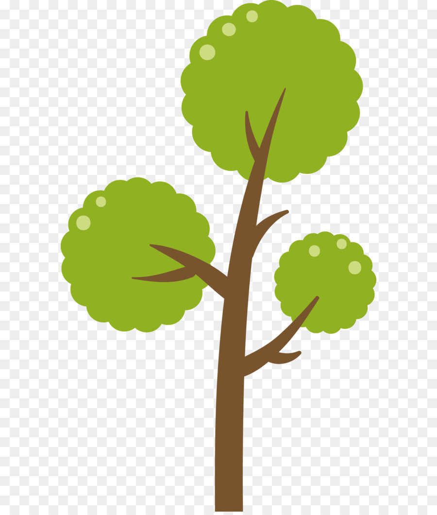 900x1060 Green Tree Vector Diagram Png Download