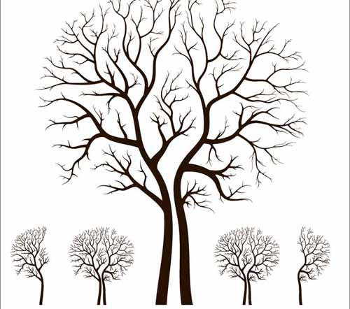 500x442 Tree Vector Free Editable Illustrations To Download