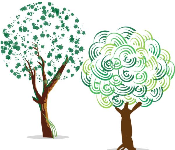 600x514 Free Free Green Tree Vector Art Psd Files, Vectors Amp Graphics