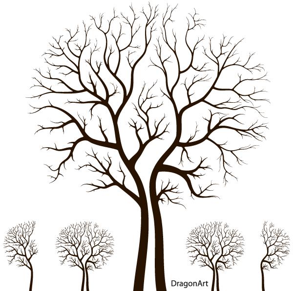 600x595 Tree Background Vectors Download Free Vector Art Amp Graphics