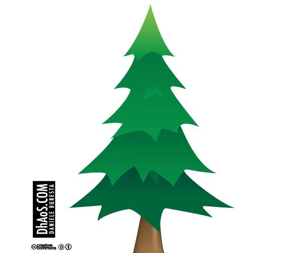600x500 Christmas Tree Vector Image Free Download Free Vectors