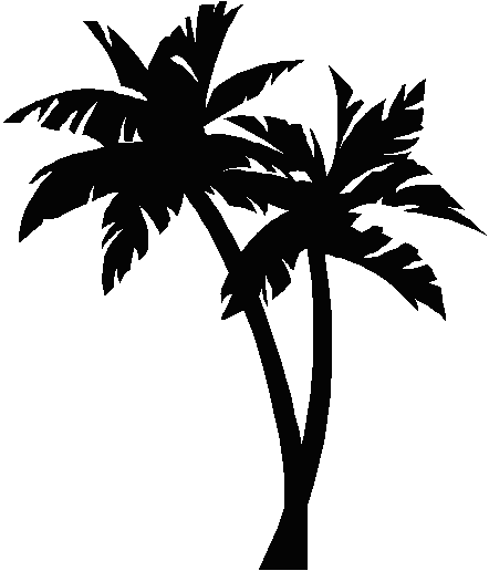 442x516 Palmtree Tattoo Palm Tree Image Ink Palm Trees Vector