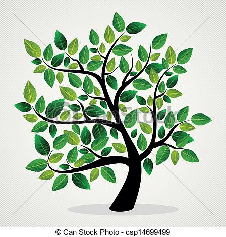 448x470 Concept Leaves Tree . Green Leaf Eco Friendly Tree Design