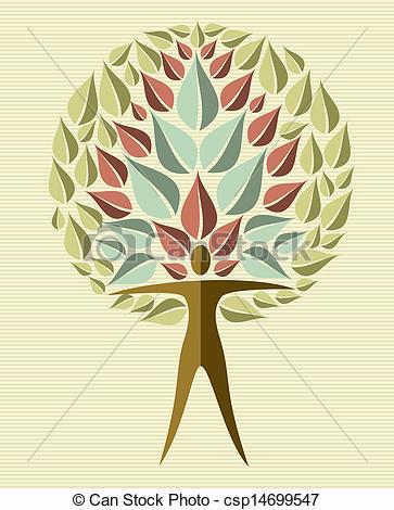 363x470 India Yoga Leaf Tree. Human Shape Yoga Exercise Tree Design