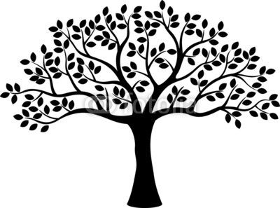 400x297 Tree Silhouette Stock Image And Royalty Free Vector Files On