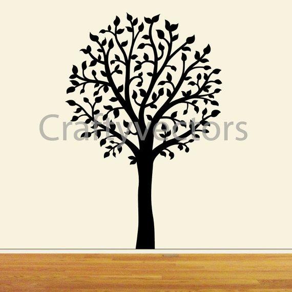 570x570 Tree Vector File Svg. Etsy