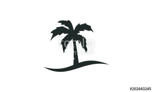 500x300 Palm Tree Vector Stock Image And Royalty Free Vector Files On