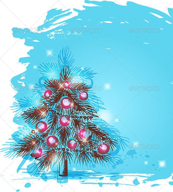 590x653 Background With Christmas Tree Christmas Tree, Vector File And