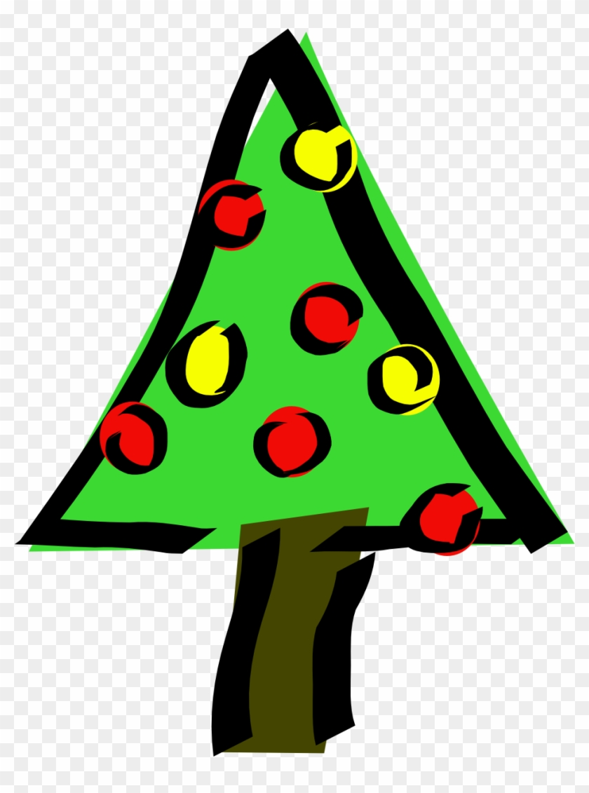 840x1131 Christmas Tree Svg Vector File, Vector Clip Art Svg