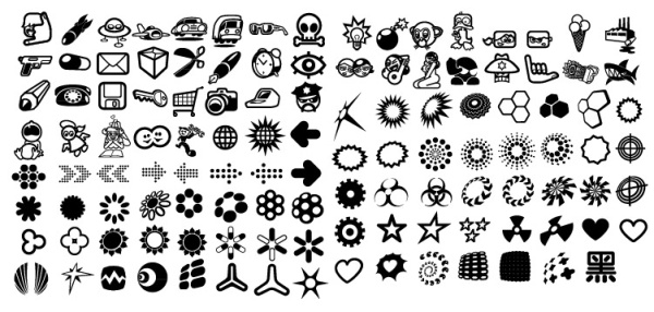 600x286 Elements Of The Icon Elements 120 Of The Trend Vector