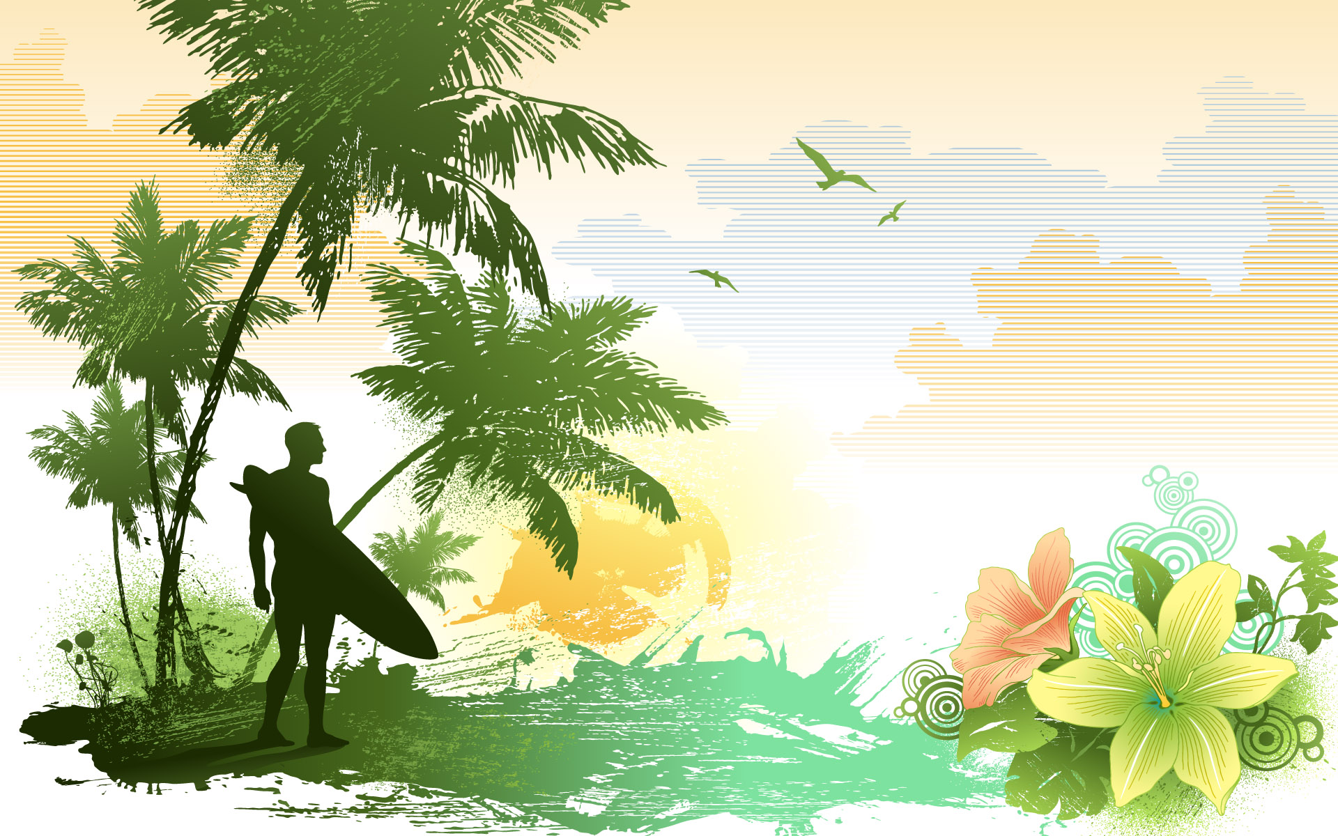 1920x1200 The Second Series Of Widescreen Trend Vector 475