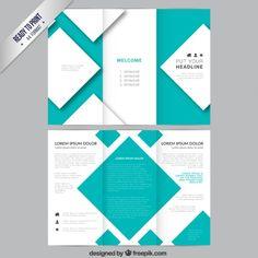 Tri Fold Brochure Vector