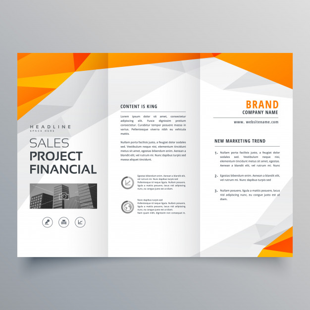 626x626 Design Brochure Tri Fold Flyer Design Trifold Brochure Vectors