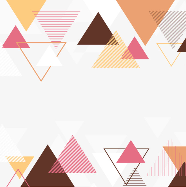 650x651 Color Triangle Background, Vector, Geometry, Color Png And Psd