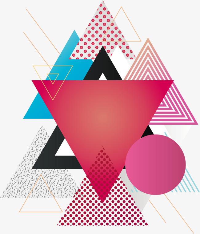 650x760 Vector Fashion Triangle Background, Fashion Vector, Triangle