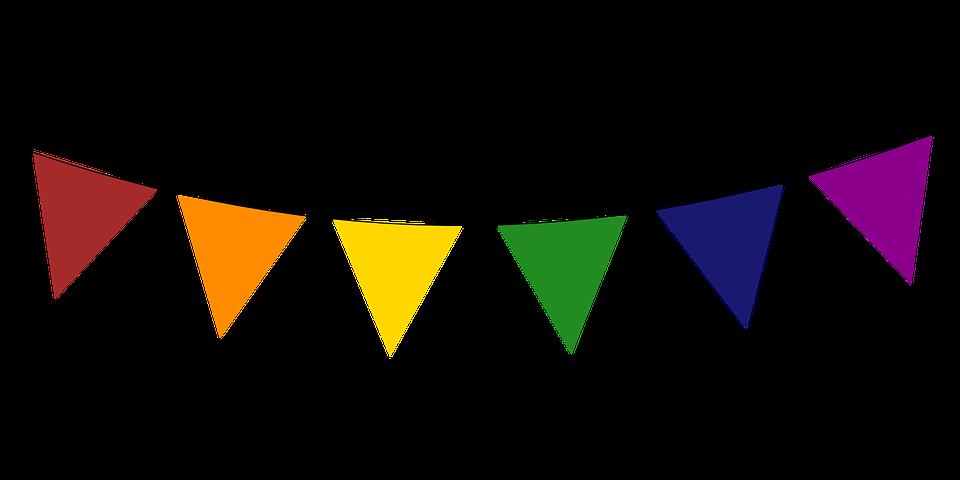 Triangle Flag Vector