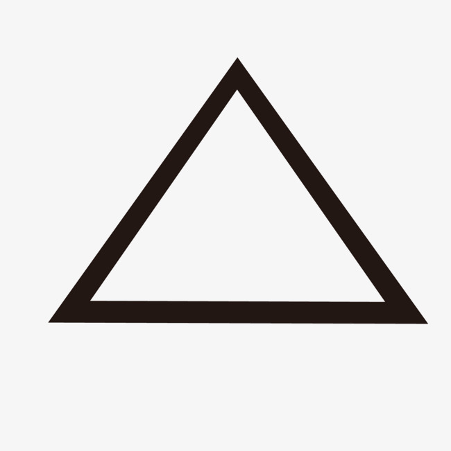 650x651 Vector Black Triangle Border, Vector, Black, Triangle Png And