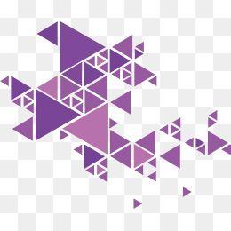 260x260 Vector Png,art,artistic Sense,purple Triangle,triangle,geometric