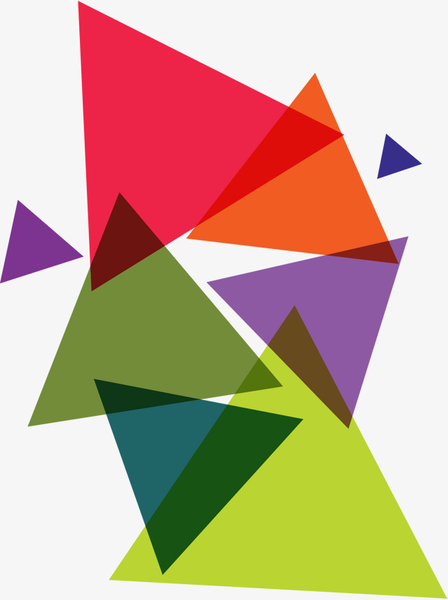 650x870 Colorful Triangles, Vector Png, Triangle, Color Triangle Png And