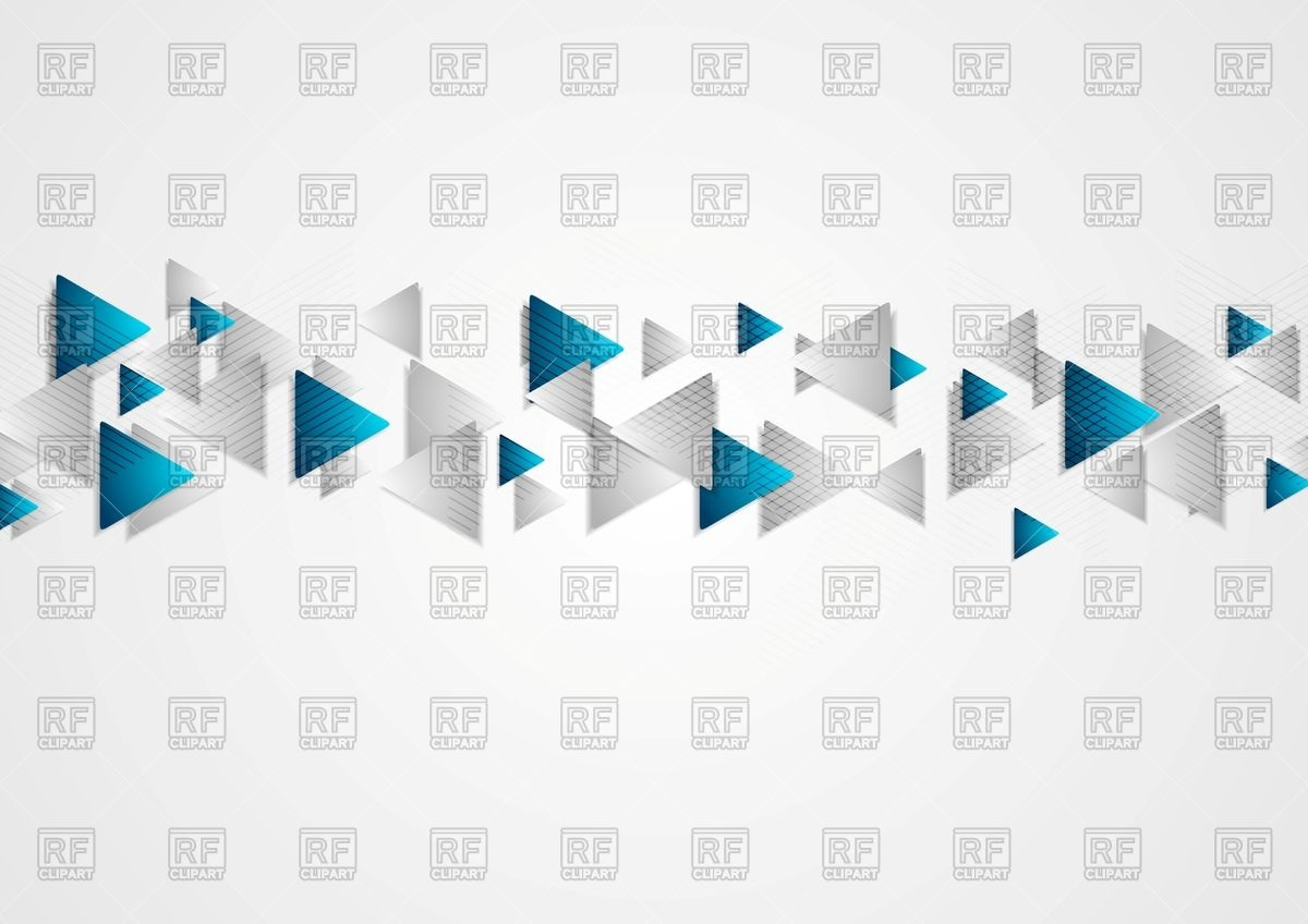1200x848 Hi Tech Blue Grey Corporate Background With Triangles Vector Image
