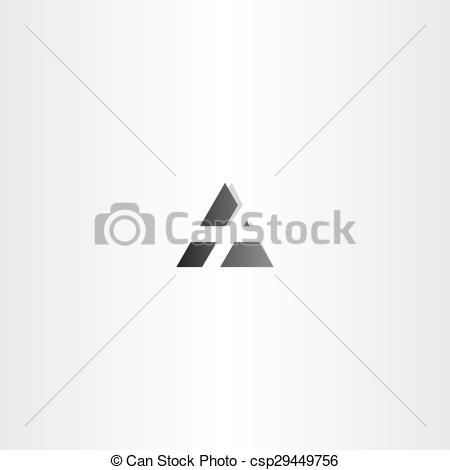 450x470 Vector, Negro, Carta, Icono. Vector