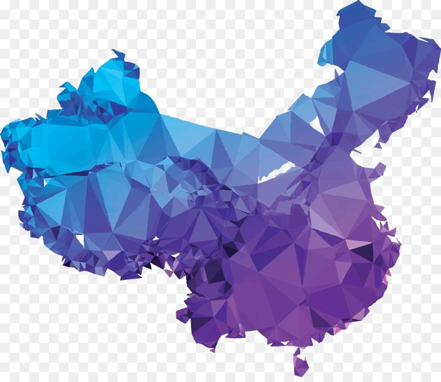 900x780 China Vector Map