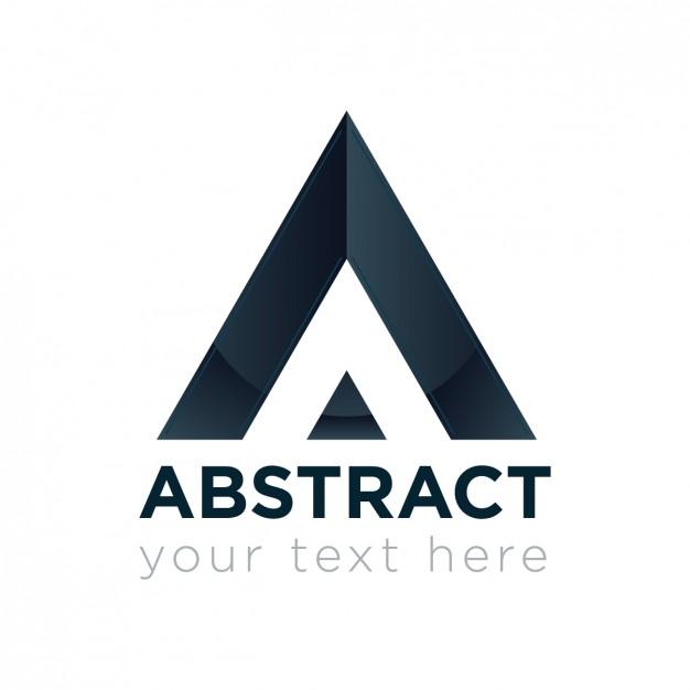 626x626 Geometric Triangle Logo Vector Free Download