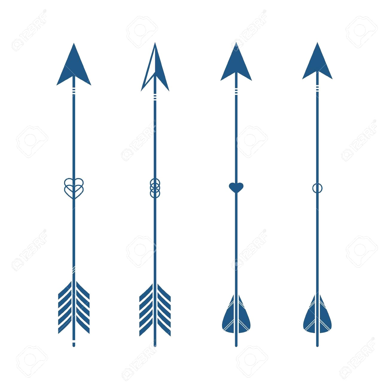 1300x1300 68606852 Collection Of Decorative Tribal Arrows Hipster Indian