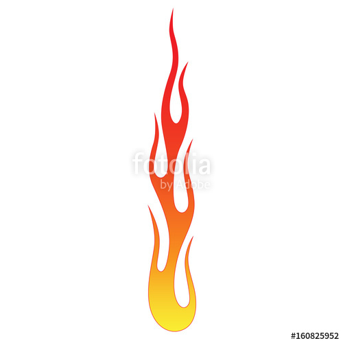500x500 Flame Tribal Fire. Colored Tribal Flames. It Can Be Used For