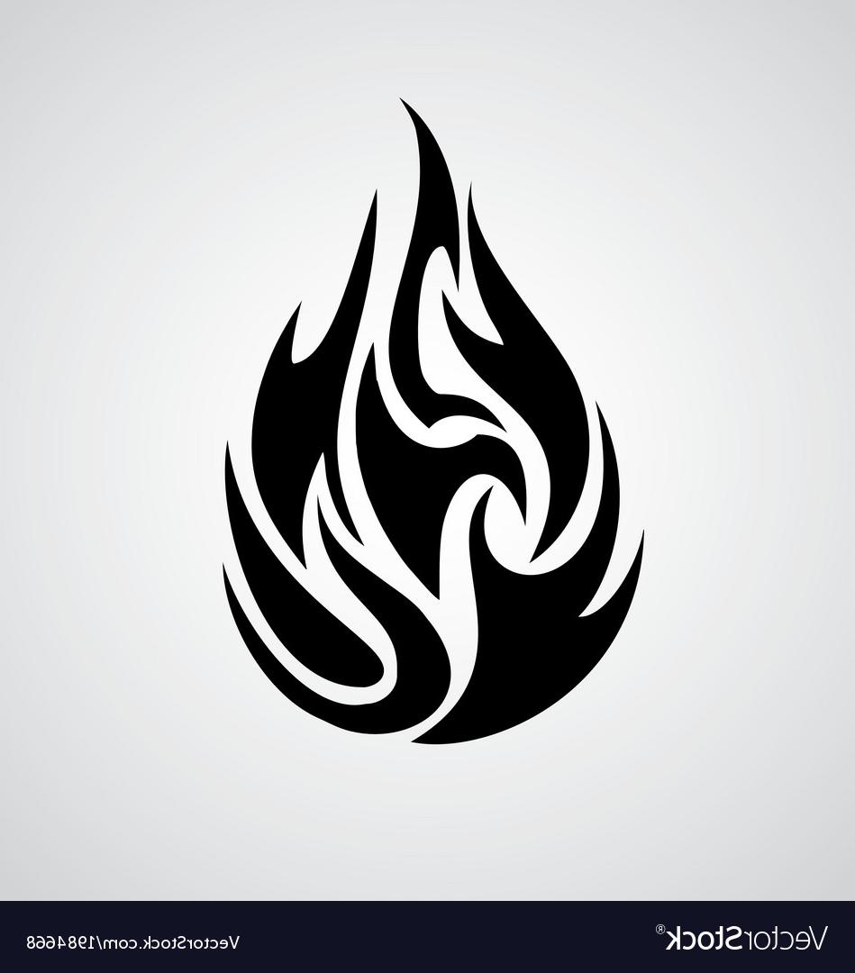 Tribal Flames Vector at GetDrawings com | Free for personal
