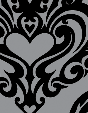 300x387 Heart Vector Tribal Tattoos Vector Genius